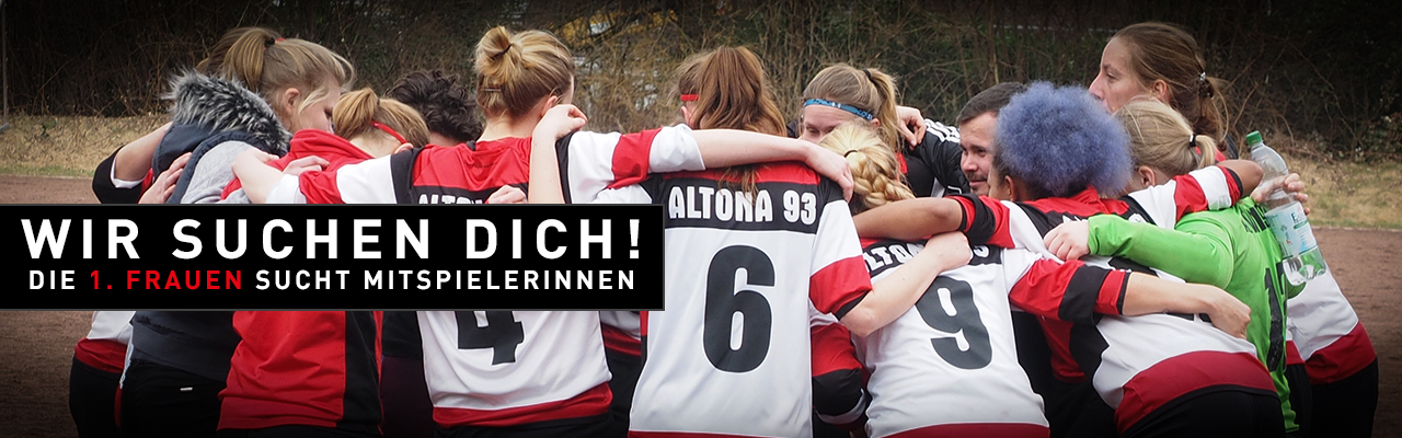 Frauen von Altona 93 suchen Mitspielerinnen