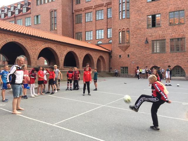 cupFußballtennis beim Gothia-